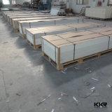 Hojas superficiales sólidas de acrílico blancas puras para el revestimiento de madera de la pared