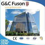Pared de cortina de aluminio de cristal del precio del material de construcción de Guangzhou