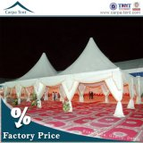 100 People Big Wedding Catering Pagoda Tents with Linings for Sale