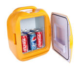 Mini refrigerador de moda DC12V, AC100-240V para la aplicación de enfriamiento y que se calienta