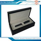 Rectángulo de madera de encargo de lujo de la pluma del color negro en venta
