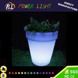 방수 플라스틱 화분 정원 LED 화분