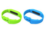 Silicon impermeável Smart Health Bracelet com Bluetooth 4.0 para Sport