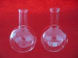 Glas-Kolben der Qualitäts-flachen Unterseiten-Boro3.3