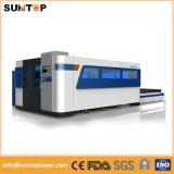 автомат для резки лазера металлического листа 1000W, удваивает таблица деятельности обменом, польностью Enclosed модель