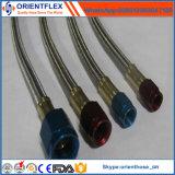 Boyau flexible de l'acier inoxydable PTFE/boyau de teflon