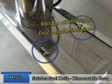 Bouilloire revêtue de chauffage électrique avec l'agitation