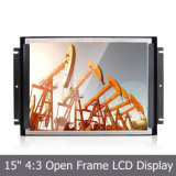 15 '' TFT LCD Metal Open Frame met 4-draad Resistive Touchscreen