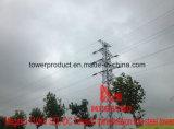 Megatro 110kv Std DCの張力送電線鋼鉄タワー