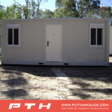 生きているホームのための洗面所が付いているプレハブの容器の家か寮またはオフィス