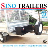 Australian Farm Hot Dipped Galvanized Hydraulic Tipping Trailers
