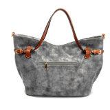 Weinlese-Handtasche der Woholesale Qualitätsleder-Frauen