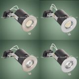Messing BS476 Fire Rated 5W GU10 Dimmable COB LED Downlight
