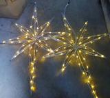 Luz popular do chapéu de coco da estrela do diodo emissor de luz Bethlehem da luz de Natal