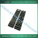 Tastiera di telecomando della gomma di silicone del modanatura