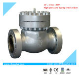 "API Wcb Flanged Swing Check Valve mit BV Inspection (12 "" - 1500LB)"
