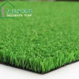 緑のPEヤーン12mmのホーム装飾の余暇の草
