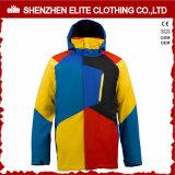 2016 водоустойчивых изготовленный на заказ Mens куртки Snowboard