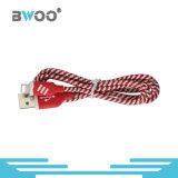 Bunter Faser-Blitz Mikro-USB-Daten-Kabel