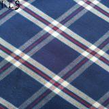 Färbte Baumwollpopelin-gesponnenes Garn 100% Gewebe für Hemden/Kleid Rls40-29po