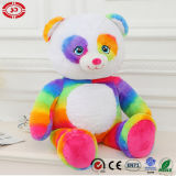 다채로운 무지개 새로운 디자인 고명한 대중적인 연약한 장난감 견면 벨벳 곰