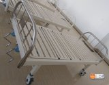 (A-124) ISO9001、ISO13485のセリウムのDouble Function Manual Hospital Bed