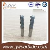 Торцевая фреза карбида вольфрама HRC45-50/HRC55-60/HRC65/HRC68