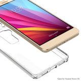 Parachoques de TPU con la contraportada de la PC cristalina para el honor 5X de Huawei