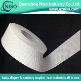 Papel del absorbente de la pulpa de la pelusa de las materias primas de la servilleta sanitaria