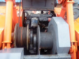 Grúa de correa eslabonada hidráulica de segunda mano de la grúa de la pista de Hitachi 50 toneladas con las buenas condiciones Kh180