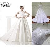Reale Abbildungen der Backless Mikado Hochzeits-Kleider