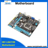 Dual Core LGA1150 DDR3 1333MHz 1600MHz carte mère H81