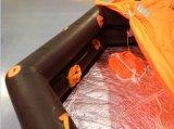 Liferaft inflável salva-vidas marinho da fábrica de China/liferaft rígido
