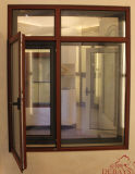 알루미늄과 목제 Composit 여닫이 창 Windows