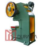 Prensa de potencia, orificios de perforación, punzonadora, punzonadora de los orificios