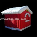 قابل للنفخ عيد ميلاد المسيح منزل خيمة بالجملة/قابل للنفخ أسرة خيمة لأنّ عيد ميلاد المسيح
