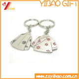 Het Metaal Keyholder, Kchain, Sleutelring van de Verkoop van de Gift van Yibao kan Douane zijn (yb-KH-419)
