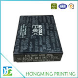 Caixa de presente luxuosa do bloco liso de cartão ondulado