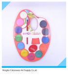 4.0cm*12colors de Cake van de Kleur van het water voor Jonge geitjes en Studenten (Oranje Kleur)