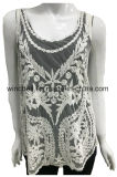 Retro Beautiful Vest for Women with Lace and Embroidery