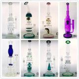 OEM/ODM de Rechte Waterpijp van uitstekende kwaliteit van het Glas van de Recycleermachine van de Installatie van de SCHAR van de Olie van de Buis met de Prijs van de Fabriek