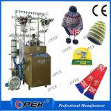 ポンポンの帽子の編む機械、機械を作る帽子