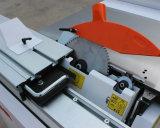 Sierra de panel de precisión deslizante con titulación de grado