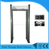 Camminata di obbligazione tramite il metal detector, metal detector del blocco per grafici di portello di 6 zone
