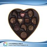 Caixa de empacotamento dada forma coração do presente do Valentim para o chocolate dos doces (XC-fbc-016A)
