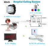 Sistema di chiamata dell'infermiera del tasto di chiamata del paziente ricoverato da 433.92 megahertz