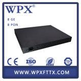 Оборудование Gepon оптического волокна 2 4 8 порта Olt для ISP