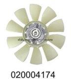 Pale de ventilateur D550 pour l'embrayage de ventilateur d'engine de Kamaz