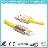 Câble téléphonique de remplissage de foudre de cordon des caractéristiques USB d'OEM Xo 2.1A pour l'iPad de l'iPhone 6