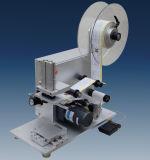 충전물 기계를 위한 반 자동적인 병 둥근 레테르를 붙이는 기계